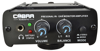 Personal In-Ear Monitor Amplifier by Cob