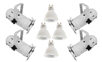 Par16 White Birdy Lighting Set