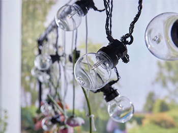 Battery Powered String Light Set with
