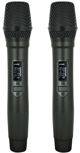 Twin Handheld UHF Microphone System DM%2