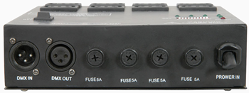 4 CHANNEL DMX RELAY PACK