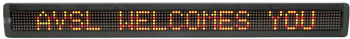 Multi-Colour LED Moving Message Board