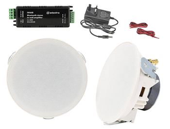 Ceiling Speakers & In-Wall Amplifier S