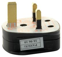 UK Mains Plug with 3A Fuse