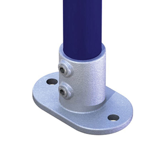 PIPECLAMP RAILING BASE FLANGE