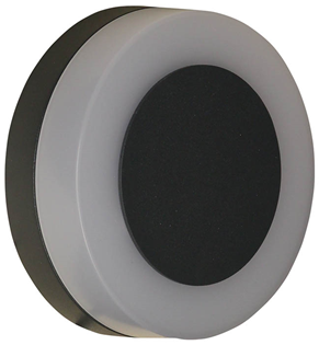 White and Black Round LED Wall Light%2