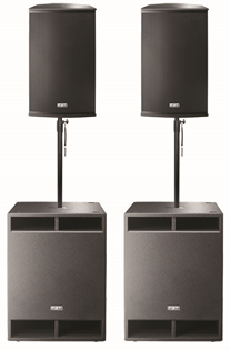 FBT X-LITE PRO 15A PA System with X-