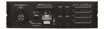 480W 4 Zone Mixer Amplifier
