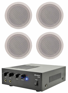 Ceiling Speaker & Amplifier Kit