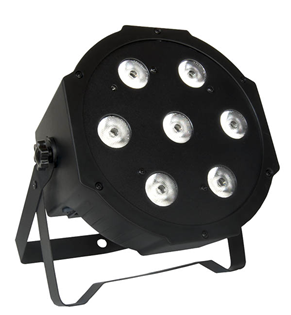 4x RGBW LED Quad Par Pack, Bag and
