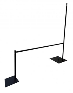 Adjustable Upright for Drape Suspension