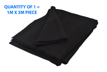 Theatre Stage Blackout Cloth - 3 Metre