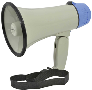 Portable Megaphone 10 Watt 200m Projecti