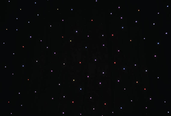 6 x 3m Tri LED Star Cloth