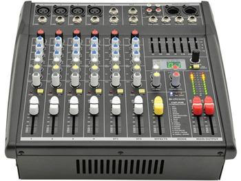 4 Channel Powered Mixer 2 x 200W