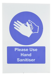 A4 Hand Sanitiser Safety Sign 300 x