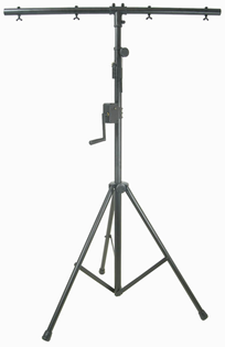 HEAVY DUTY LIGHTING STAND WITH WINCH %