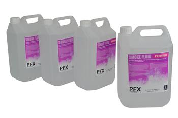 Medium Density Fog Fluid 4 x 5 Litre