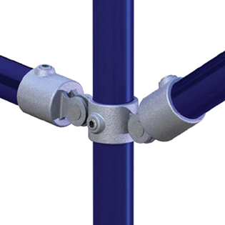 PIPECLAMP DOUBLE SWIVEL COMBINATION