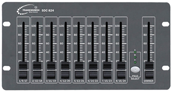 16 Channel DMX Lighting Controller