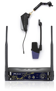 JTS Wireless UHF Microphone for Wind/Bra