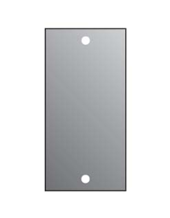 2U BLANK PANEL FOR M/P/S  1/10TH