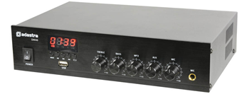 Digital 100v Mixer-Amp with USB and FM