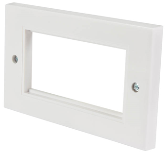Double Gang Wall Plate Frame for 4 M