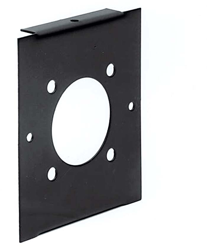 2 MODULE WIDE FRONT PANEL - POWER LOCK SOURCE