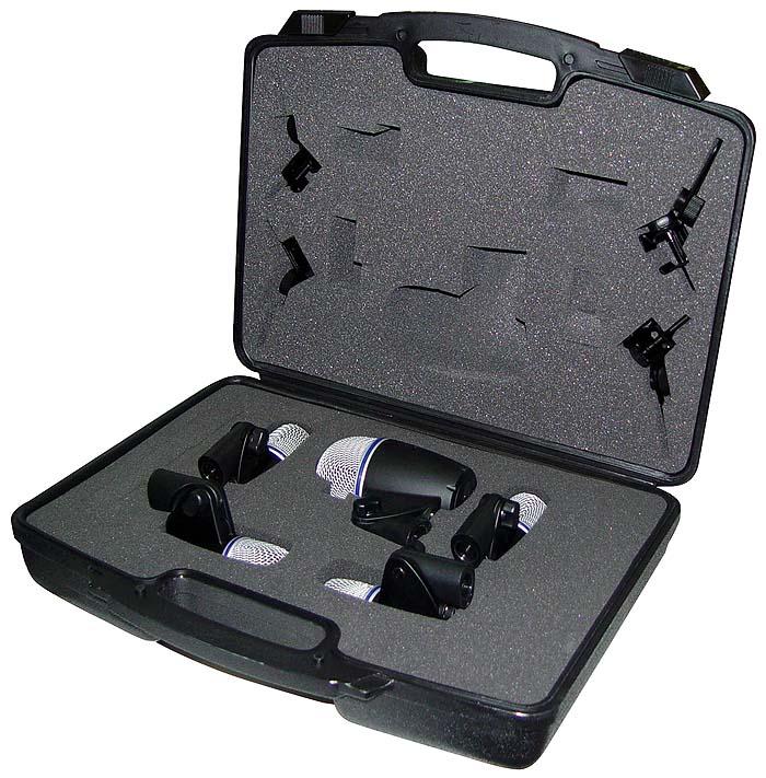 jts drum mic set 5 piece microphones
