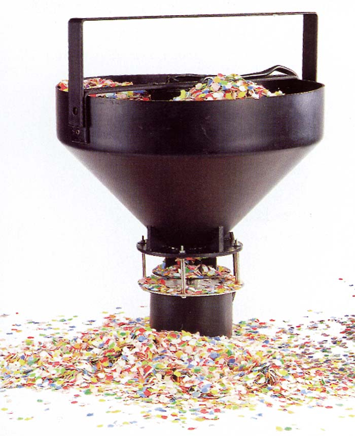 confetti drop machine