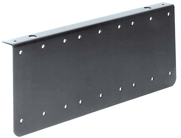 END PLATE RACKMOUNT - 6U HIGH x 2U DEEP