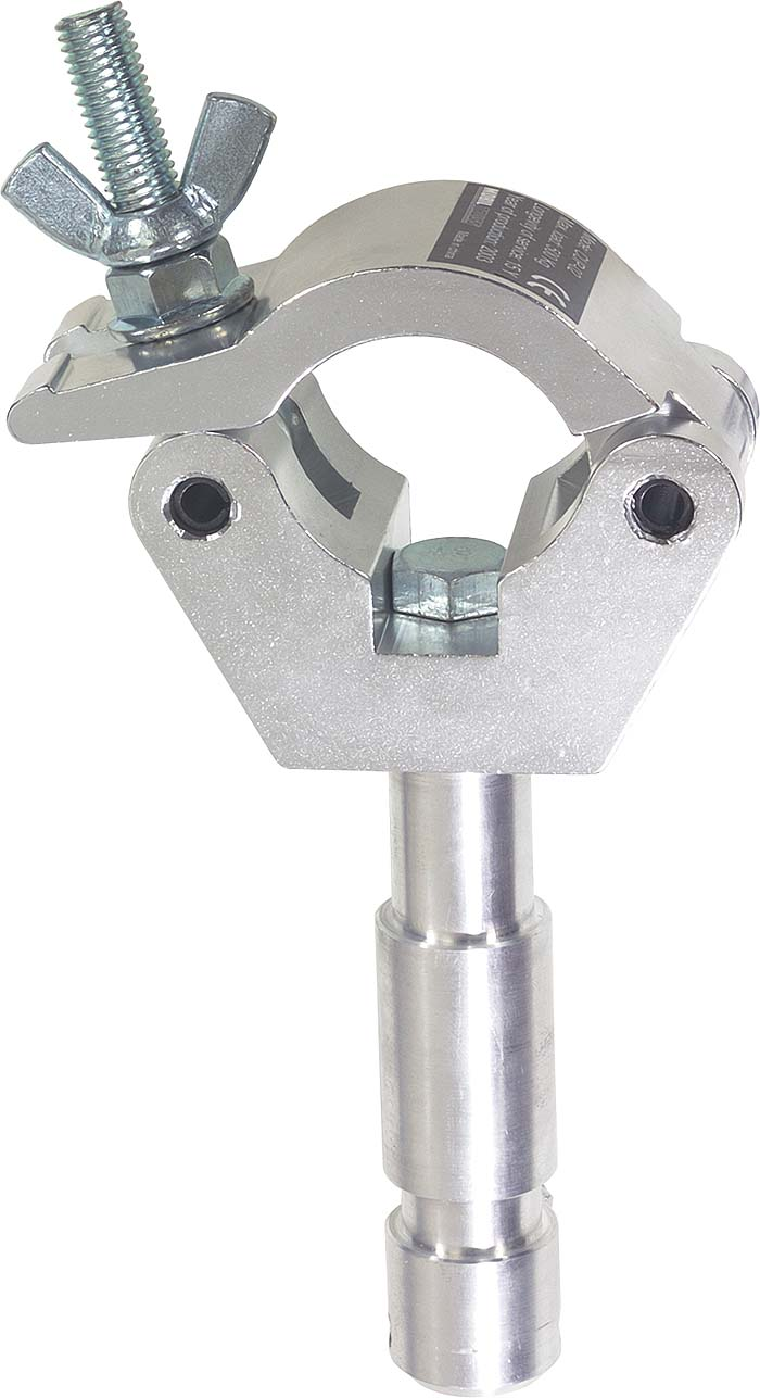 HALF COUPLER C/W UNIV SWIVEL TV SPIGOT