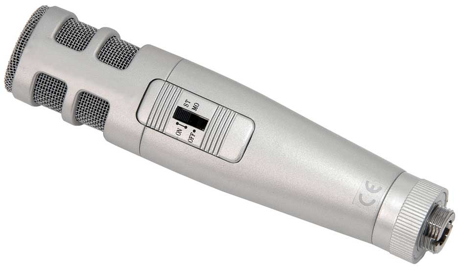 Stereo Condenser Broadcast Microphone