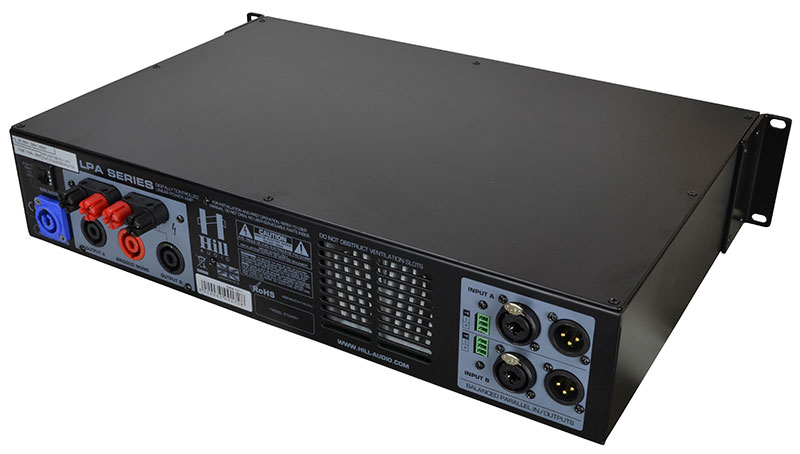 Hill Audio 2 x 700 Watt Amplifier