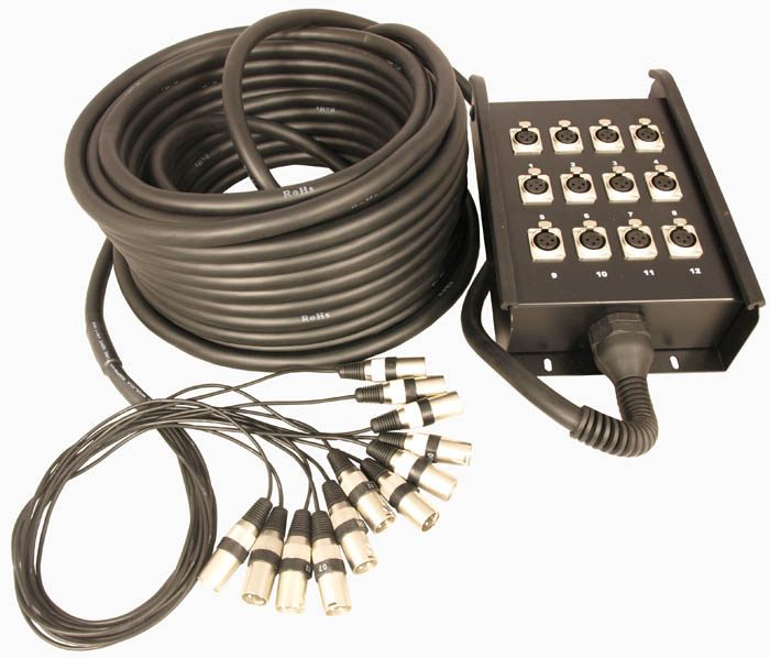 12 INPUTS STAGE BOX SNAKE (INPUTS ON