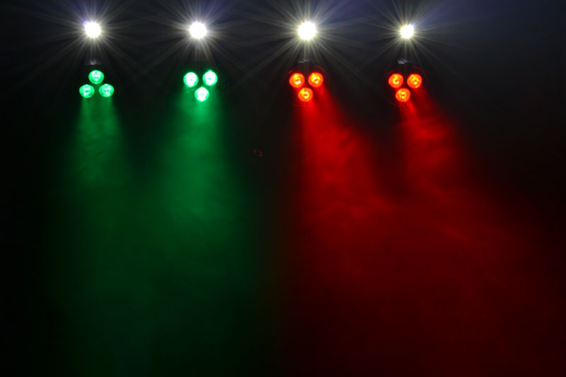 Stage Lighting Package with 8 RGB Ligh
