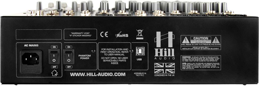 Hill Audio 12 Channel Stage Mixer