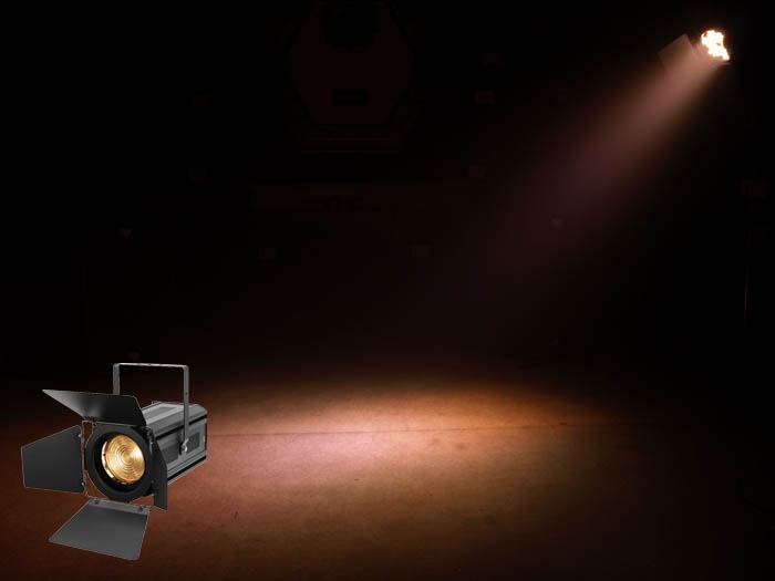 Led Zoom Fresnel 150w Warm White Stage Light