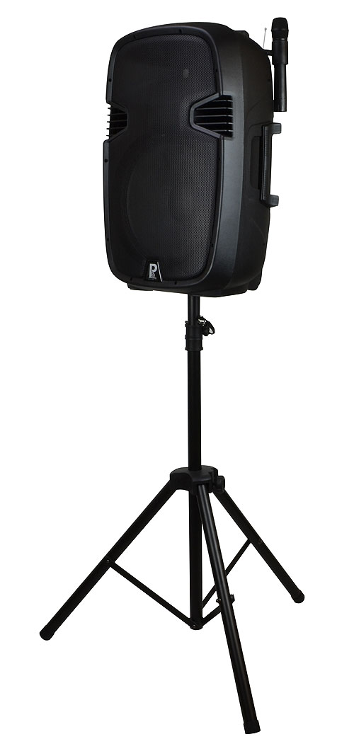 Battery Portable PA Inc Stand and Bags