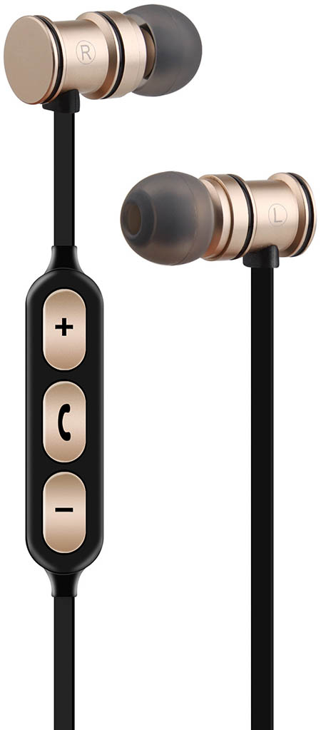 Metallic Magnetic Bluetooth Earphones