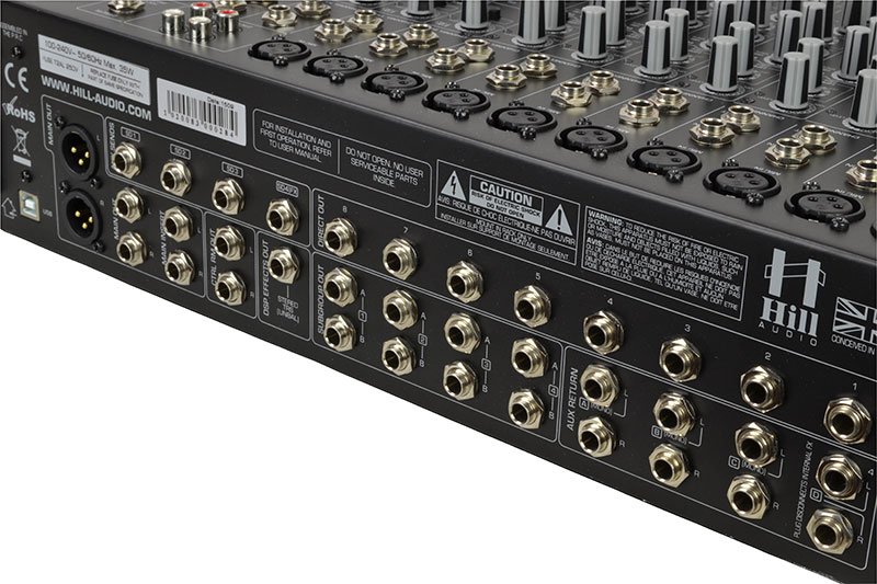 Hill Audio LMR2442FXC 12 Channel Stage%2