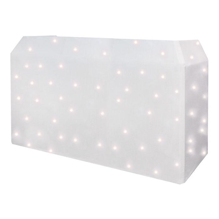 PRO DJ Booth LED Star Cloth System -