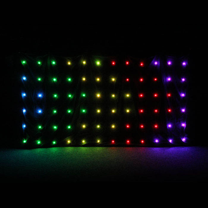Tri LED Matrix Table Star Cloth System