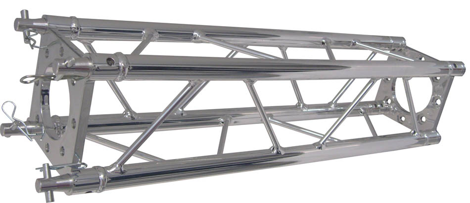 CHROME DECO TRUSS 300MM STRAIGHT