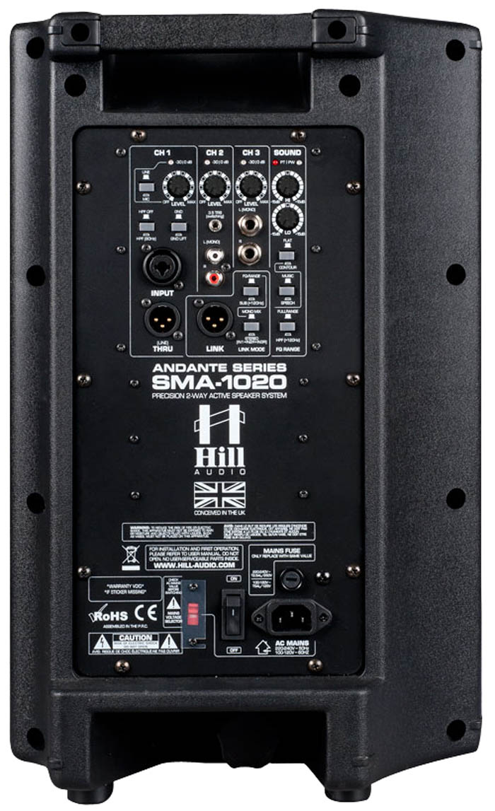 Hill Audio SMA1020 Powered 10