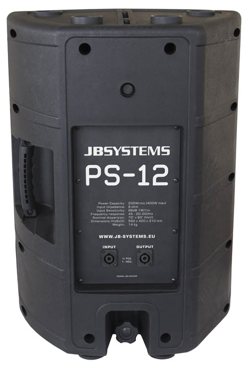 JB Systems PS-12 12 Inch Speaker Cabin