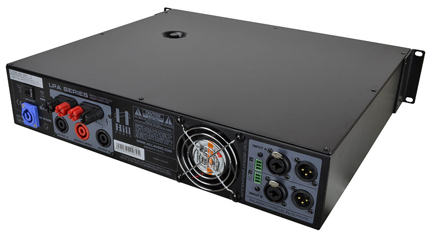 Hill Audio 2 x 1200 Watt Amplifier