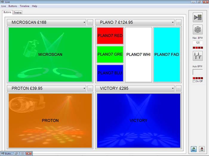 Sweetlight Remote Dmx Software Interface Dmx Lighting