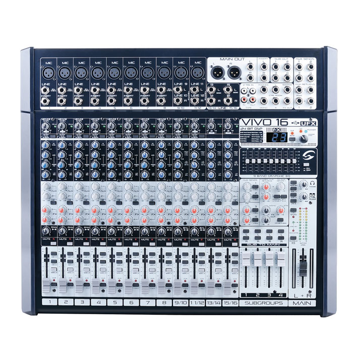 VIVO16 16 Channel Mixing Desk